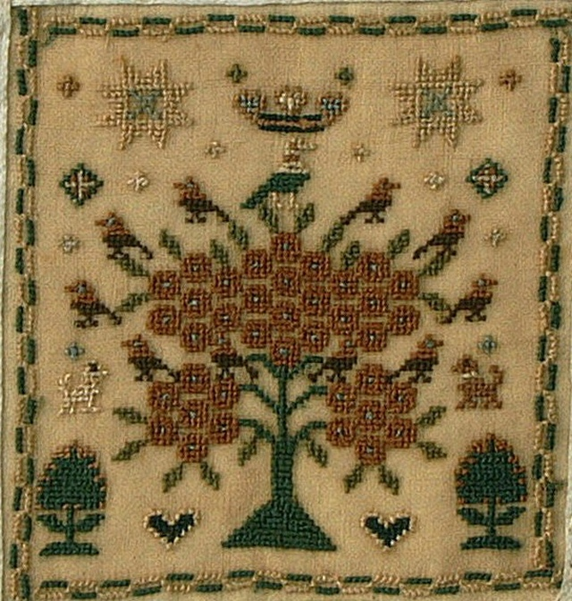 TREE OF LIFE EMBROIDERY PATTERN